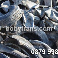 Абонаментно извозване на гумени отпадъци