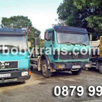 Извозване на отпадъци с контейнери